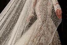 Wedding dresses & veils inspiration