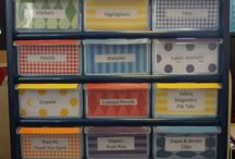 Classroom Organization / by The Princess and The Pump