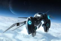 Science Fiction Spacecraft & Vehicles