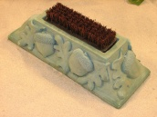 Boot Brushes / Add your own unique touch of magic with a statue boot cleaner. Each cast stone shoe scraper is created in durable, long lasting stone bringing years of happiness to your patio or garden.