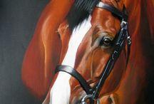 My art horses / My artworks