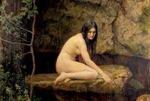 Jhon Collier e suas pinturas belíssismas | Neoclassicismo