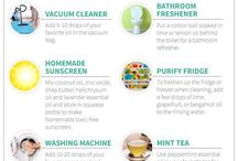 Essential oils + House & Cleaning