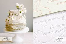 wedding invitations - soft romantic / From Oh So Beautiful Paper