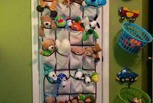 Organização de brinquedos / Dicas de como organizar brinquedos e objetos das crianças.