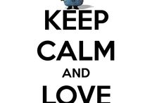 Keep calm and Love Think