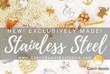 Stainless Steel Charms, Beads, Connectors, Chains, Findings