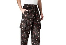 Chef Pants / Chefwear offers 20 different styles of chef pants that differ in style, fit and length.