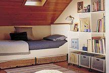 Lány szoba tetőtér