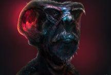 3D creature design / 3D creature concepts