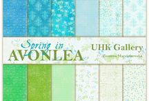 UHK Gallery 2016 - Spring in Avonlea - scrapbooking papers collection