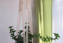 Macrame plant