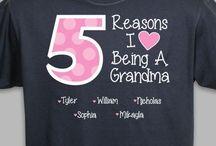 Grandma t shirts