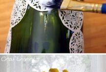 Cecorar con botellas