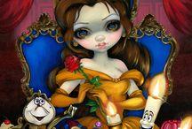 ★ Jasmine Becket. / Nació el4 de junio de 1979. Ilustración Gótica Contemporánea.