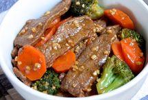 stir fry veg   and chicken