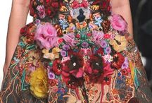 flower power / flowers...floral....colorful fashion....inspiration...boho