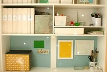 Home Office / by Cookie Hunt Rice