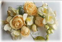 цветы из фоамиранга