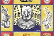 Gesualdo / Don Carlo Gesualdo, (1566 - 1613) Prince of Venosa, Italian Renaissance composer, lutenist and murderer.  What a story!