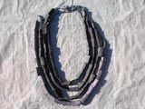 gioielli cartapesta / collane e bracciali, pezzi unici, con la tecnica del papier-mache