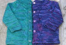 вязанные кофточки для девочки