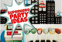 Party Theme - Superheros