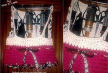 Háčkování pletení šití...
