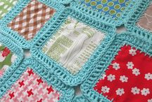 Crochet blanket & pilow