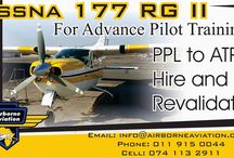 Airborne Aviation Flight School / Why not learn to fly under the watchful eye of the setting African Sun?