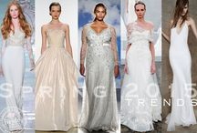 2015: Bridal Fashion Trends this Spring ! / There was a lot to love for Spring 2015! Straight from the NYC runways, we recap the newest and hottest wedding dress trends for Spring 2015!