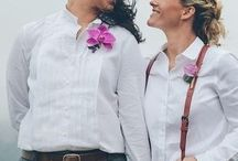 #LoveWins: LGBT Wedding Inspiration / Beautiful inspiration for LGBT weddings! #lovewins