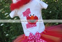 Elmo birthday / Ideas for Zara's birthday party