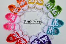 Gehäkelte-BABY-Shoes