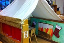 Log cabin / Role play area