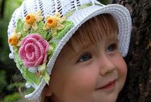 Chapéus para menina