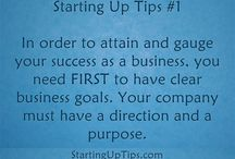 Starting Up Tips / Useful tips when starting a small and home-based business