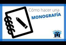 Como hacer una monografia