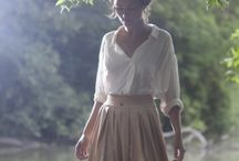 long skirt look