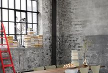 Natural Textures / Create your own relaxing urban retreat with our textured murals, canvases, wall hangings and more. Think exposed brick walls, weathered wood and natural structures. Here you'll find edgy, on-trend inspiration to add industrial, warehouse chic to your home, both from Surface View's collections and across the web.