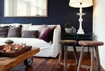 Navy walls for lounge / by Scott Richardson