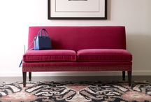 50 Shades of Settee / Settees are my jam.