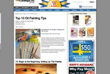 Painting Tips / Fine Art Acrylic, Watercolor and Oil-Painting