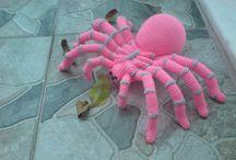 amigurumi pająk