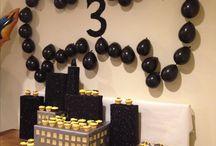 Batman 3rd Birthday Party