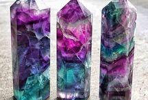 Crystals - Fluorite
