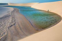 Lençóis e dunas maranhense