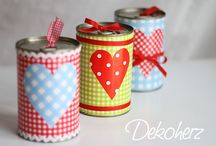 Plechovky a sklenice - Cans and jars