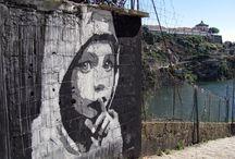 Renato Ribeiro /  #RenatoRibeiro #artist #artista #art #arte  #StreetArt  #spray #streetartportugal #streetart #streetartitalia #graffiti #mural #muralart