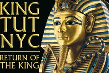 King Tut NYC: Return of the King  / Behold the legendary treasures of King Tut. For the first time in a generation, revel in the splendor of the ancient Egyptian world as you view a dazzling array of possessions unearthed from his tomb, along with antiquities representing his family and contemporaries. Through 10 galleries and 130 artifacts, New York City will experience the world of the pharaohs like never before with the King Tut Exhibition!